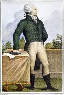 Maximilien Robespierre N(1758-1794) French Revolutionist Aquatint Italian Early 19Th Century Poster Print by (18 x 24)