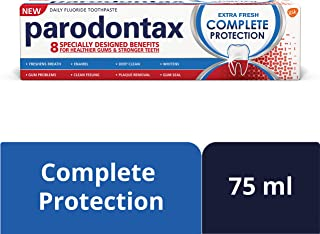 Parodontax Complete Protection Extra Fresh Toothpaste for Bleeding Gums, 75 ml
