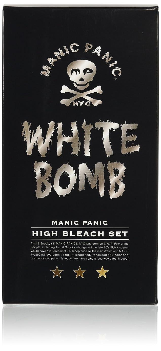 打倒生きる考慮マニックパニック ホワイトボム ハイブリーチセット (ブリーチパウダー30g+オキシ6%90ml)(医薬部外品)