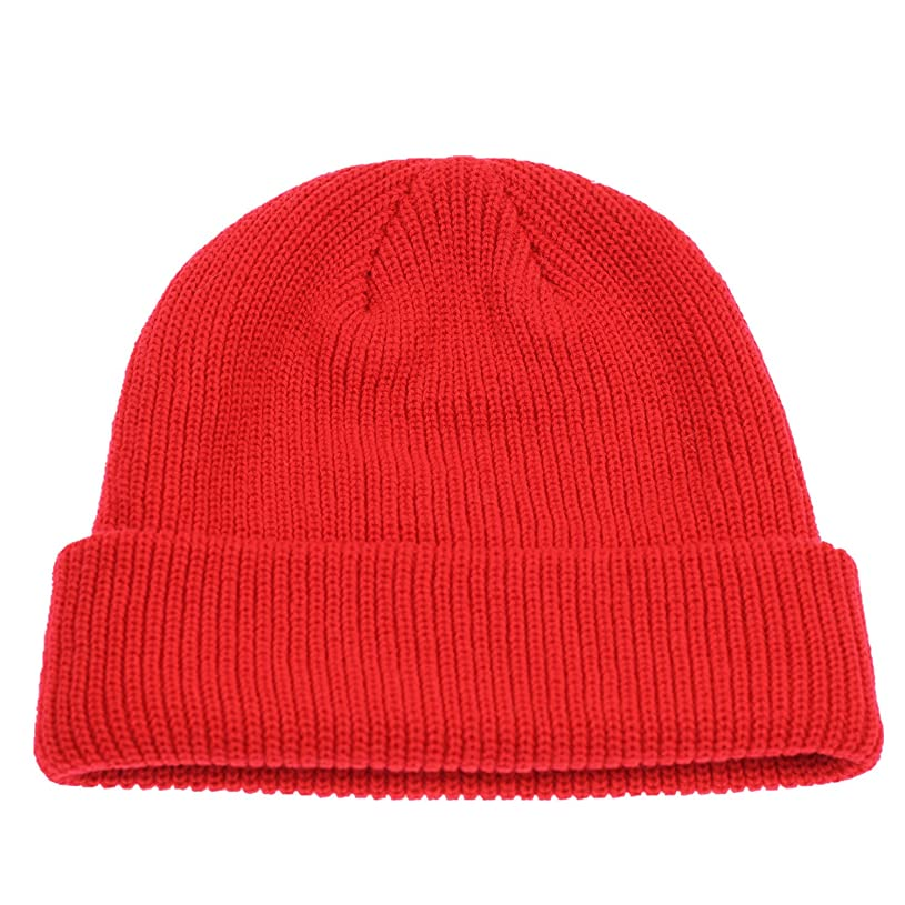 Connectyle Classic Men's Warm Winter Hats Acrylic Knit Cuff Beanie Cap Daily Beanie Hat xx6466038