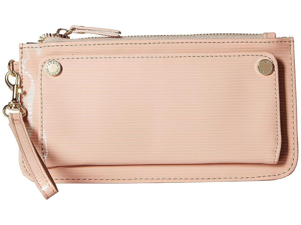 Steve Madden Patent Wristlet (Blush) Wallet Handbags