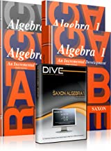 Saxon Algebra 1: 3rd Edition Homeschool Kit with Solutions Manual & DIVE Instructional CD