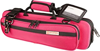 Protec Flute Slimline PRO PAC Case (Fits B or C Foot), Hot Pink, Model PB308HP