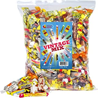Old-Time Candy - Vintage - Nostalgic - Bulk Candy - Black Cow, Peanut Butter Bars, Slo Poke, Mary Jane, and more! (2 Pounds)