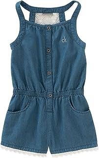 7444de31939e Amazon.com  Little Girls (2-6x) - Jumpsuits   Rompers   Clothing ...