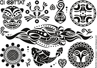 Amazon Fr Maori Tatouage