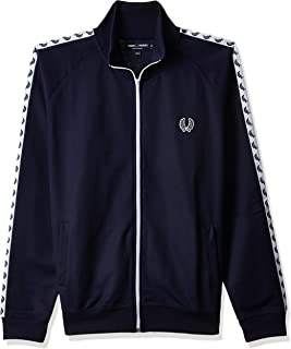 Fred Perry Men's J6231 Jacket,Blue, X-Large