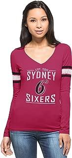 Sydney Sixers 2016 Cadillac Pink Homerun Long Sleeve Tee, Pink