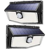 2-Pack Litom 160 LED Solar Motion Sensor Lights with 3 Modes