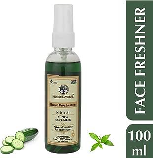 Khadi Natural mint cucumber face freshner toner, 100 ml