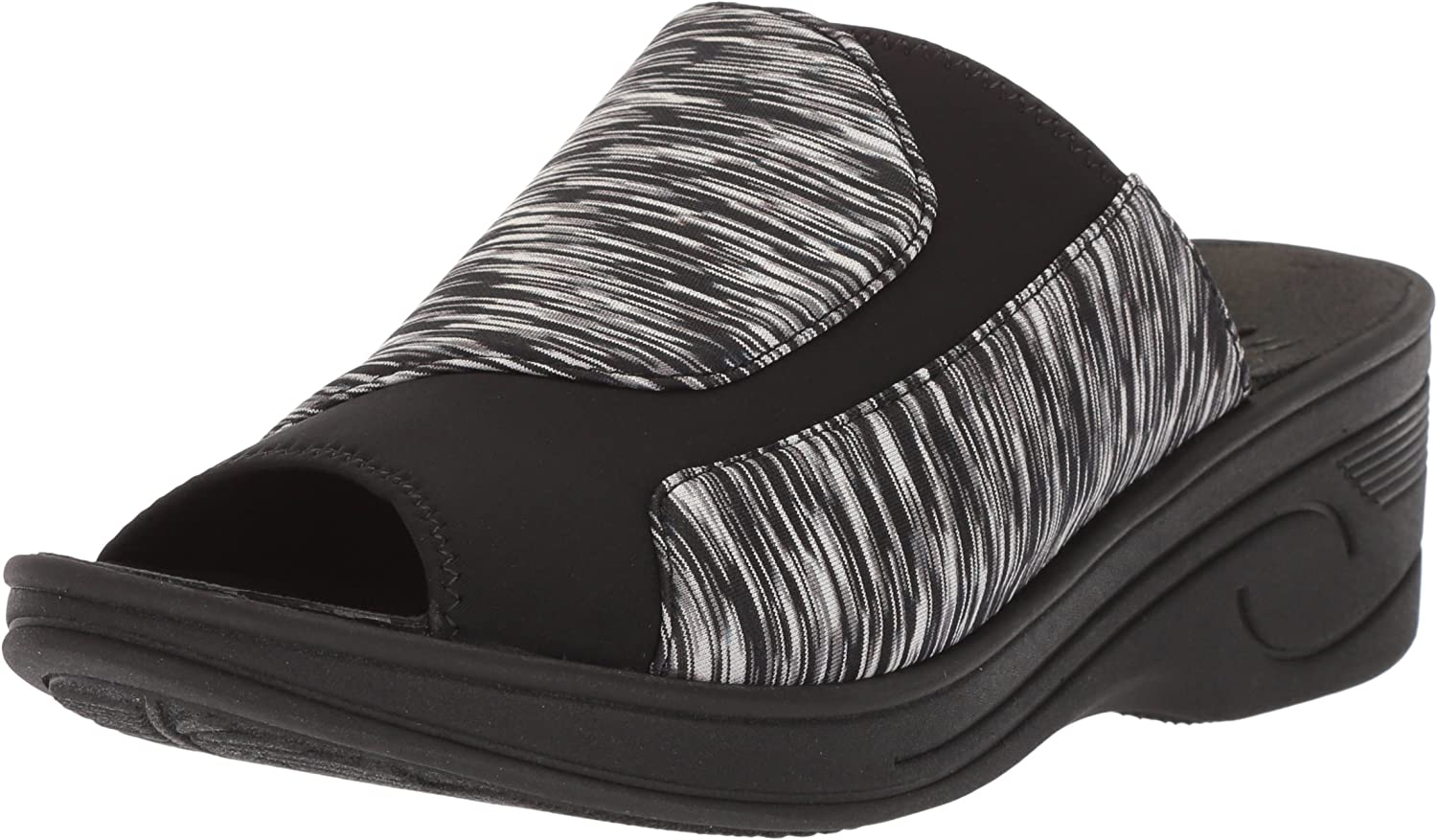 Easy Street Womens Slight Wedge Sandal