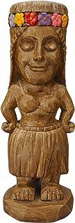 Moonrays 95962 Tiki Themed Outdoor Solar Light Garden Gnome Island Princess