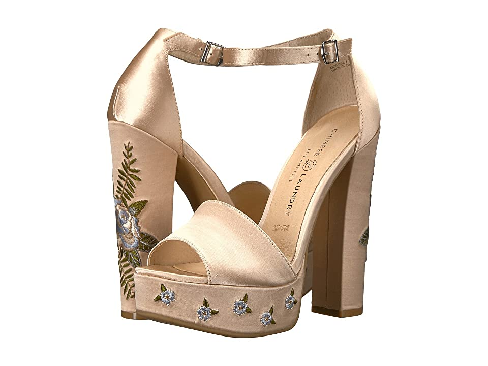 Chinese Laundry Amy (Now Nude Satin) High Heels