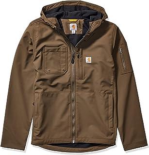 Carhartt Men's Hooded Rough Cut Jacket Work Utility Outerwear
