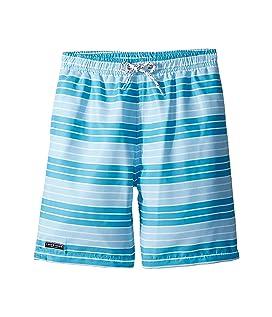 Aqua Stripe Swim Shorts (Infant/Toddler/Little Kids/Big Kids)