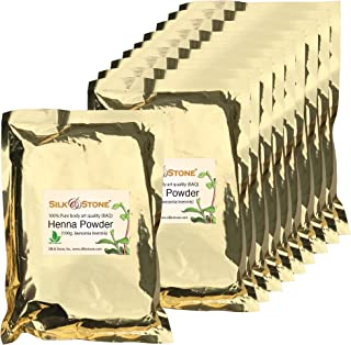 Silk & Stone 100% Pure & Natural Henna Powder Guaranteed (1kg.)