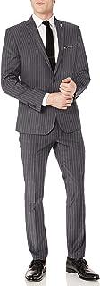 Men's Slim Fit Stretch Finished Bottom Suit
