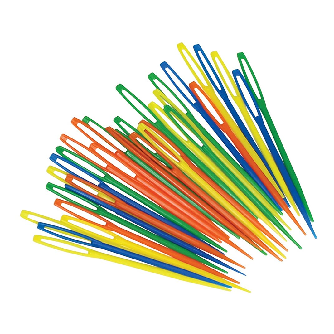Roylco R-5601 Plastic Lacing Needles, 0.5