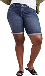Levi's Women's Plus-Size Shaping Bermuda Shorts