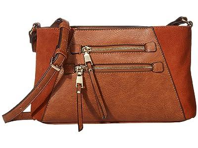 SOLE / SOCIETY Chele Crossbody (Cognac) Handbags