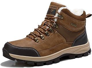 ARRIGO BELLO Bottes Homme Bottine Bottes de Neige Boots Hiver Chaussures Chaudes Fourrure Randonnée Les Loisirs 41-46