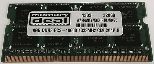 8GB DDR3 Memory Module for Toshiba Satellite L875-S7245