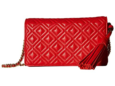 9f47316dde4 Tory Burch Fleming Flat Wallet Crossbody at Zappos.com
