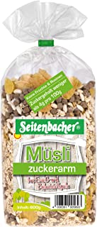 Seitenbacher Müsli Zuckerarm, 3er Pack 3 x 600 g