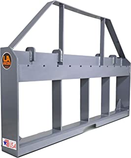 Titan Attachments UA Made in The USA Skid Steer Pallet Fork Frame