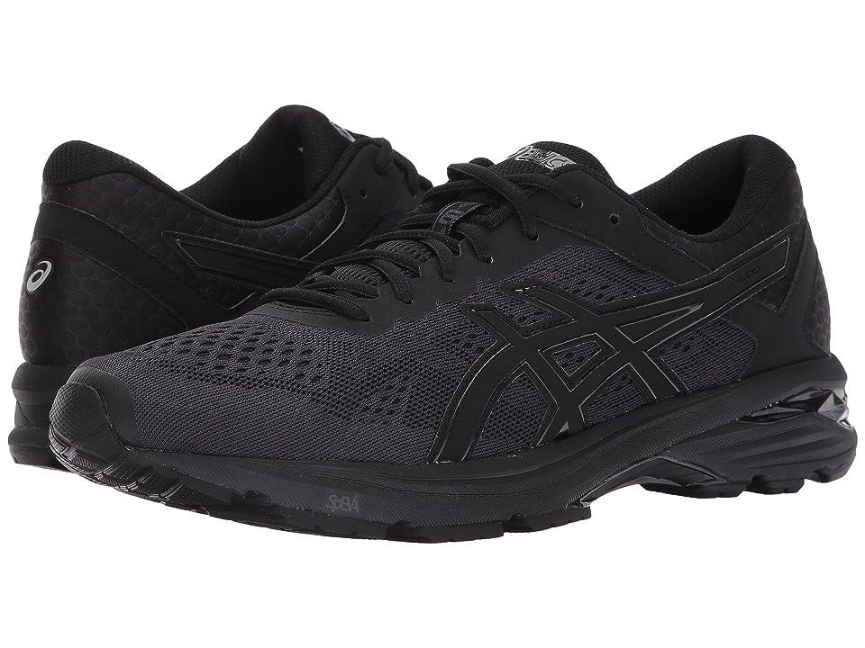 ASICS GT-1000 6 (Black/Black/Silver) Men