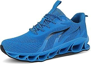 Mens Walking Jogging Tennis Shoes Fashion Breathable Non...