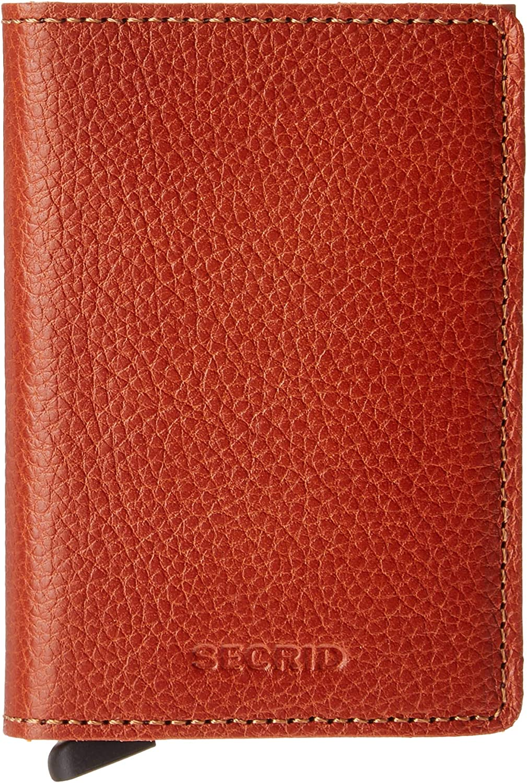 Secrid Slim Wallet Genuine Leather Veg Tanned Caramello Safe Card Case max 12 cards