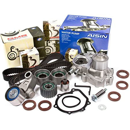 Evergreen TBKWP277A Timing Belt Kit Water Pump Fit 98-99 Subaru Legacy Impreza Forester DOHC EJ25