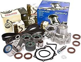 Evergreen TBK328WPA Compatible With 02-05 Subaru Impreza WRX Turbo 2.0 DOHC EJ20 Timing Belt Kit AISIN Water Pump