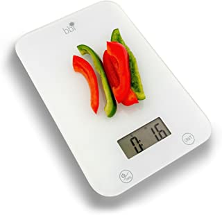 BBI Digital Kitchen Food Scale, One Ultra Slim Multifunction With LCD Display, 11 lb