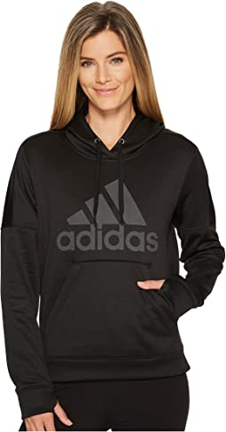 adidas - Team Issue Fleece Pullover Logo Hoodie