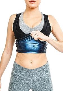 Women's Premium Workout Tank Top Slimming Polymer Sauna Vest
