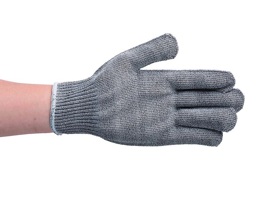 珍味免疫からに変化する手袋 メトロポリス 耐切創 スペクトラワイヤー EN388 グレー XPE-0819