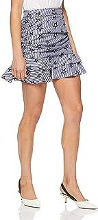 Delphine Women's Stars and Stripes Skirt
