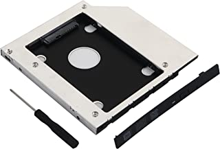SATA 2nd Hard Drive Caddy Case Tray for 9.0mm Universal Laptop CD/DVD-ROM Optical Bay