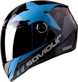 saviour motorbike helmet gtx crona full face (BLUE)