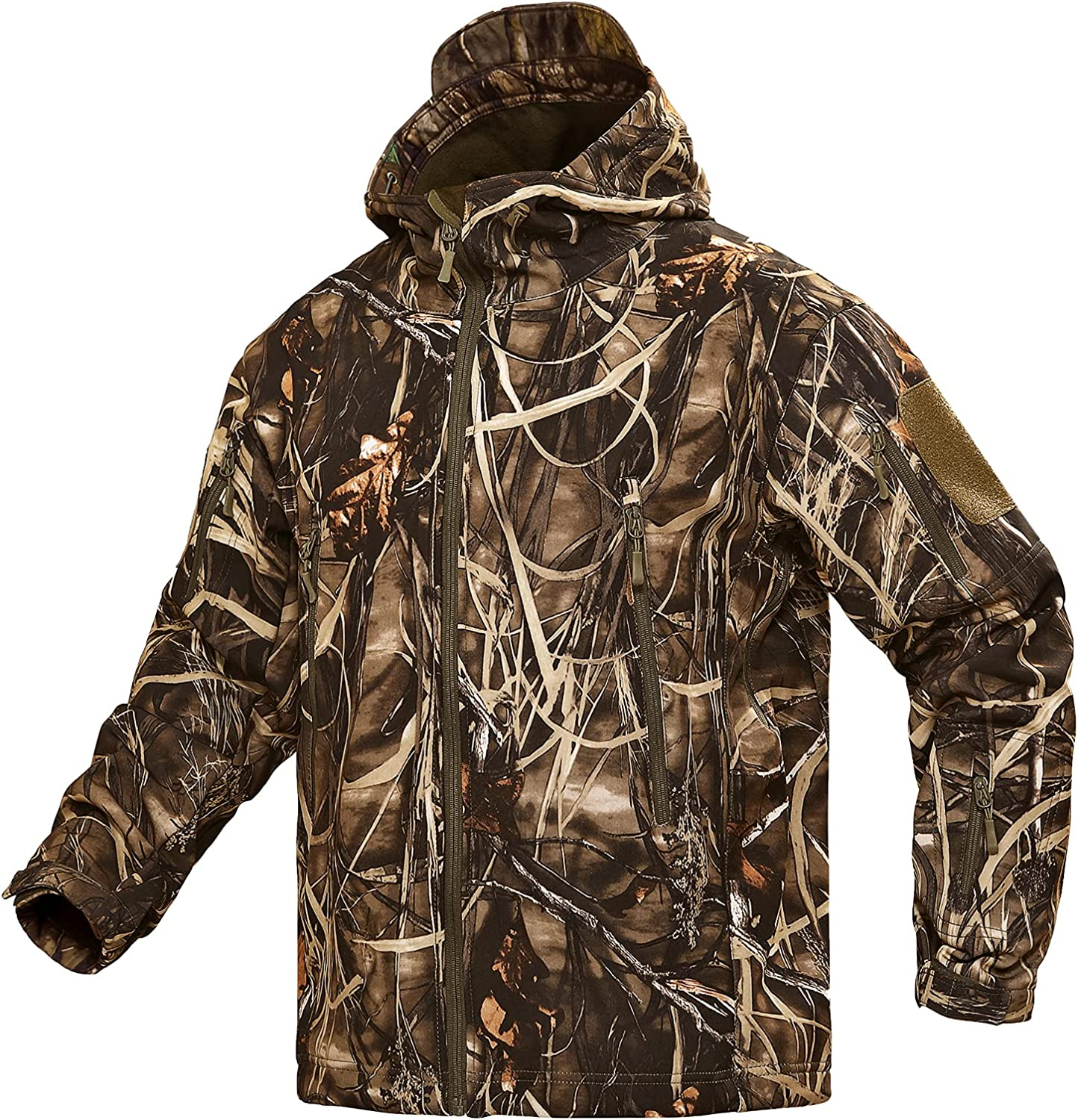 YEVHEV Hunting Jacket for Free Shipping Cheap Bargain Gift Soldering Men Clothing Camouflage Hoodie