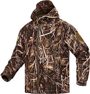 YEVHEV Hunting Jacket for Men Camouflage Clothing Hunting...