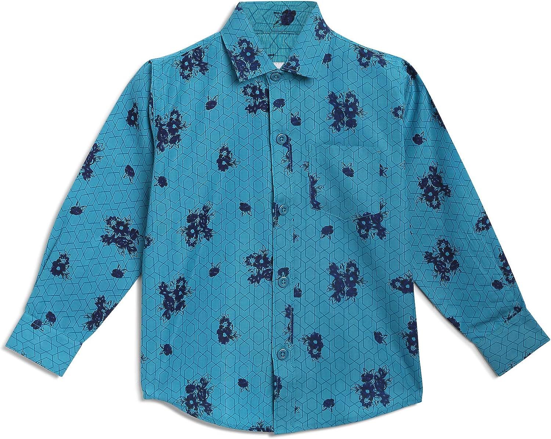 Kidling Kids Floral Shirt for Boys (K-303-$P)