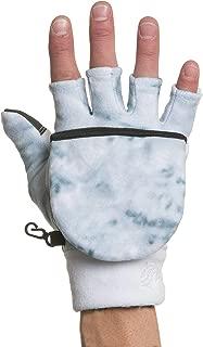 Aqua Design Convertible Flap Mittens for Men Cold Weather Winter Fleece Gloves