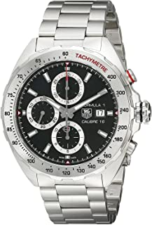 Tag Heuer Mens Formula 1 Watch Automatic Sapphire Crystal CAZ2010.BA0876