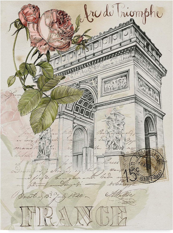 Trademark Fine Art Paris Sketchbook II by Jennifer Paxton Parker, 14x19