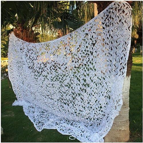 Filet de camouflage oxford Le Filet D'ombrage Décoratif Blanc Convient à L'atmosphère de Fête pour Définir de Nombreuses Tailles pour les jardins d'ombre extérieurs ( Taille   56M(16.419.7ft) )