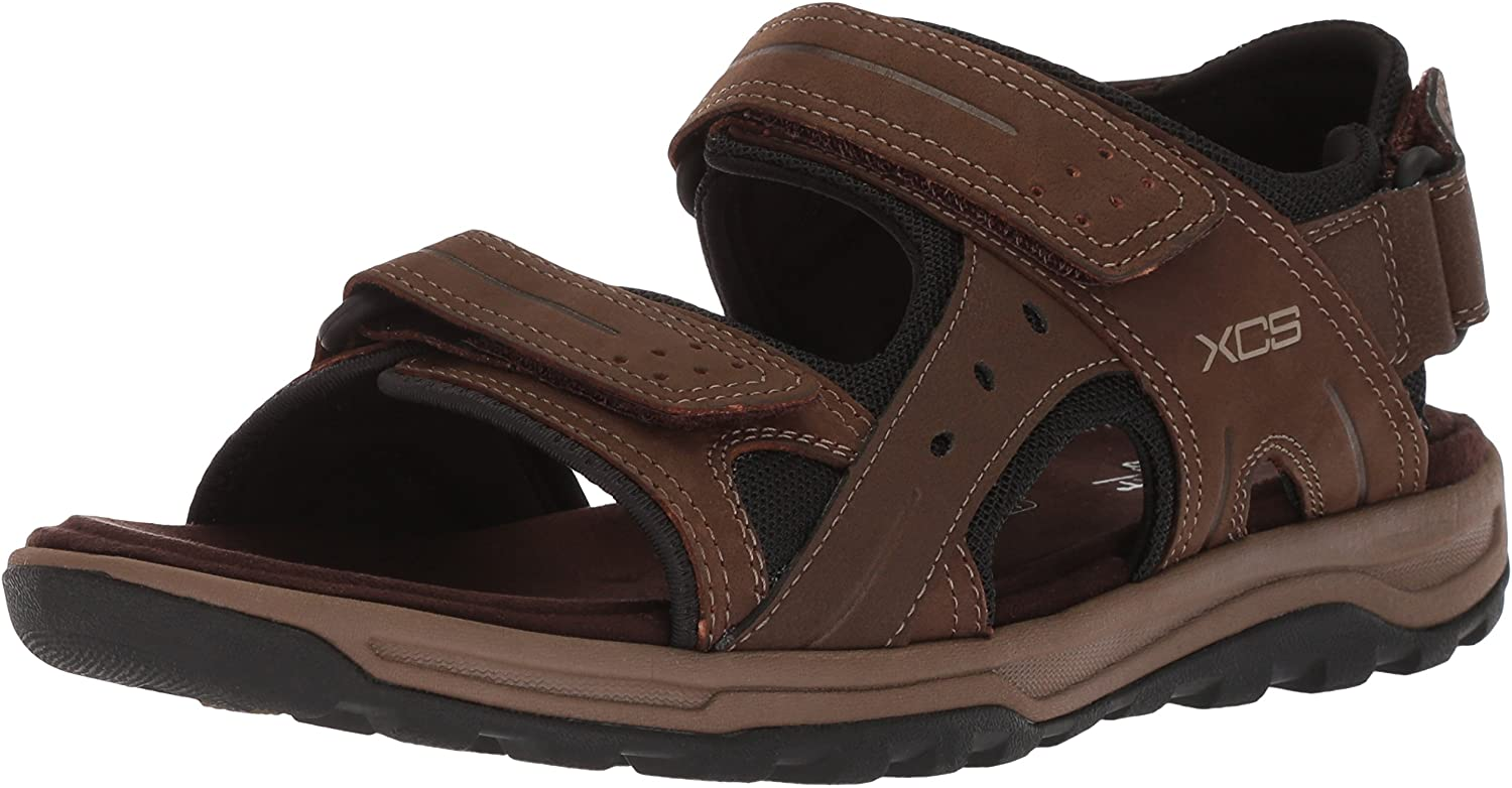Rockport Fixed price for sale Men's Trail Technique Adjustable Sandal Nippon regular agency W 8 Brown US