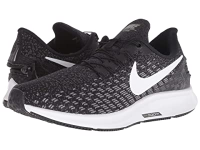 Nike FlyEase Air Zoom Pegasus 35 (Black/White/Gunsmoke/Oil Grey) Women